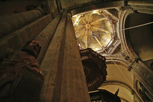 Interior, Cathedral of Santiago de Compostela, Image Credit: Jairo, Flickr Creative Commons