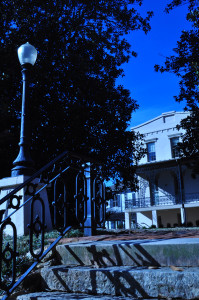 The Lucy Cobb Institute, a frequent meeting place of the Athens Woman's Club