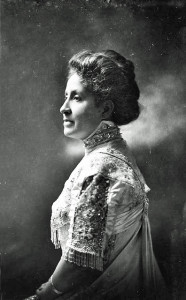 Mary Church Terrell, first president of the National Association of Colored Women's Clubs